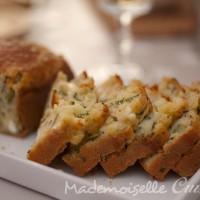 Cake salé : courgette chèvre