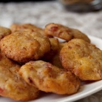 Biscuits Apéritifs Comté Lard