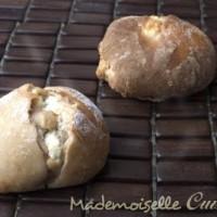 Pain à la farine de châtaignes, coeur de brousse
