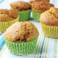 Muffins au Potiron (sans beurre, sans lait)