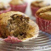 Muffins Vanille - sans beurre, sans oeufs, sans lait... bref végétaliens quoi