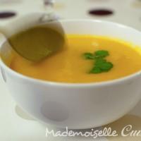 Velouté carottes orange (soupe)