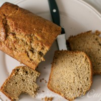 Cake à la banane (banana bread)