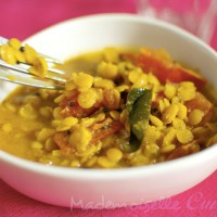 Dal de lentillles (ou dahl)