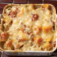 Gratin de butternut au curry