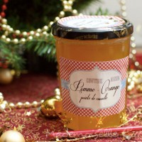 Confiture Pomme Orange Cannelle