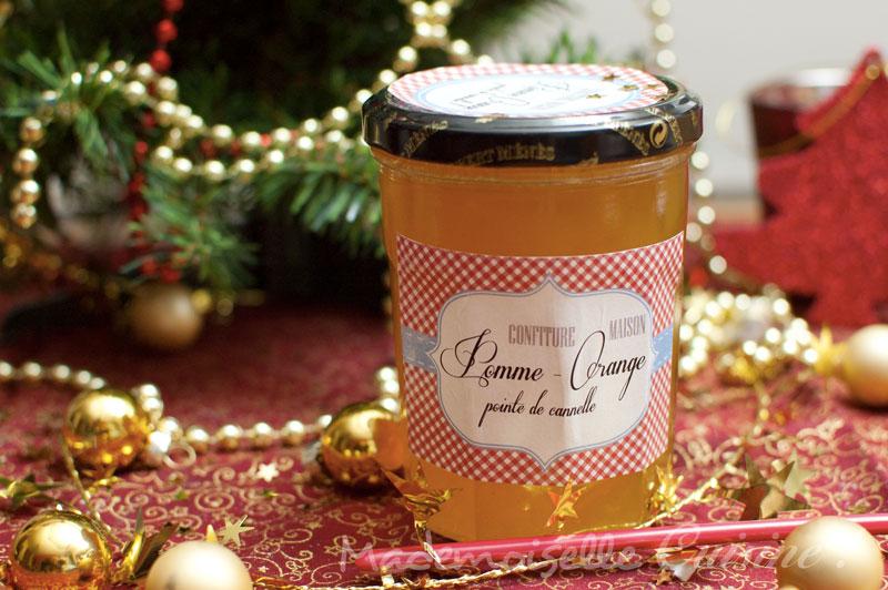 confiture pomme orange cannelle recette de cuisine mademoiselle cuisine recettes astuces. Black Bedroom Furniture Sets. Home Design Ideas