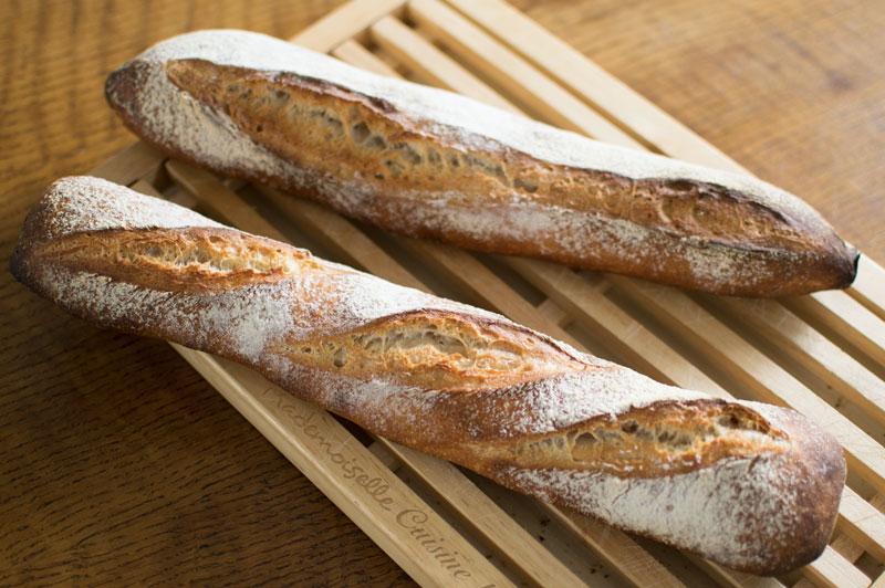 Baguette maison au levain la recette for Baguettes de pain maison