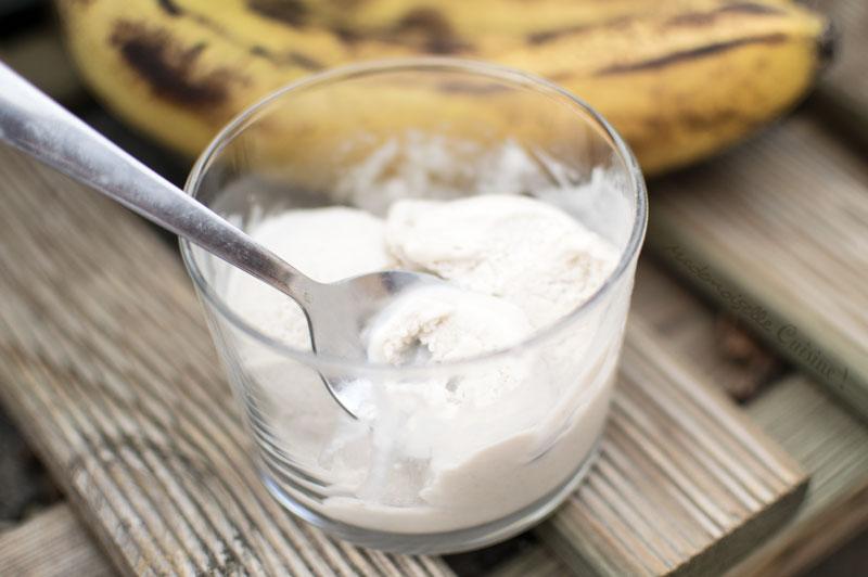 recette de glace à la banane