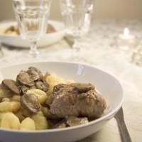 Paupiettes de veau au champignon