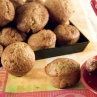 Muffins Fraise Rhubarbe