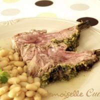 Carré d'agneau en croute d'herbes (recette de Pâques)