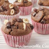 Muffins Choco-noisette sans beurre