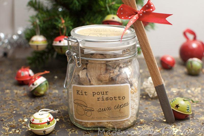 kit risotto aux c pes offrir recette de cuisine mademoiselle cuisine recettes astuces. Black Bedroom Furniture Sets. Home Design Ideas